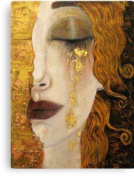 Gustav Klimt Golden Tear