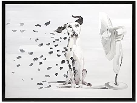 Losing my Spots Dog Painting