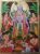 Vishnu Tanjore Painting With Frame