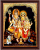 SHIVA FAMILY TANJORE PAINTING WITH FRAME