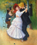 DANCE AT BOUGIVAL Handpainted Painting on Canvas Wall Art Painting (Without Frame)