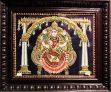 Gajalakshmi Traditional Tanjore Painting With Frame 18inc x 15inc x2inc