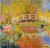 The Japanese Bridgete Giverny Handpainted Painting on Canvas Wall Art Painting (Without Frame)